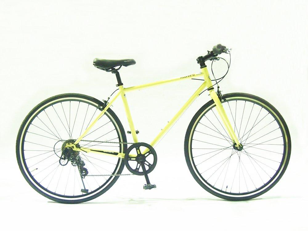 ASUNAROアスナロ 自転車 AN-707CN Clove(クローヴ) 700×28cクロスバイク 100%完成車 B073QQ2TKWアイボリー