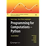 Programming for Computations - Python: A Gentle Introduction to Numerical Simulations with Python 3.6 (Texts in Computational