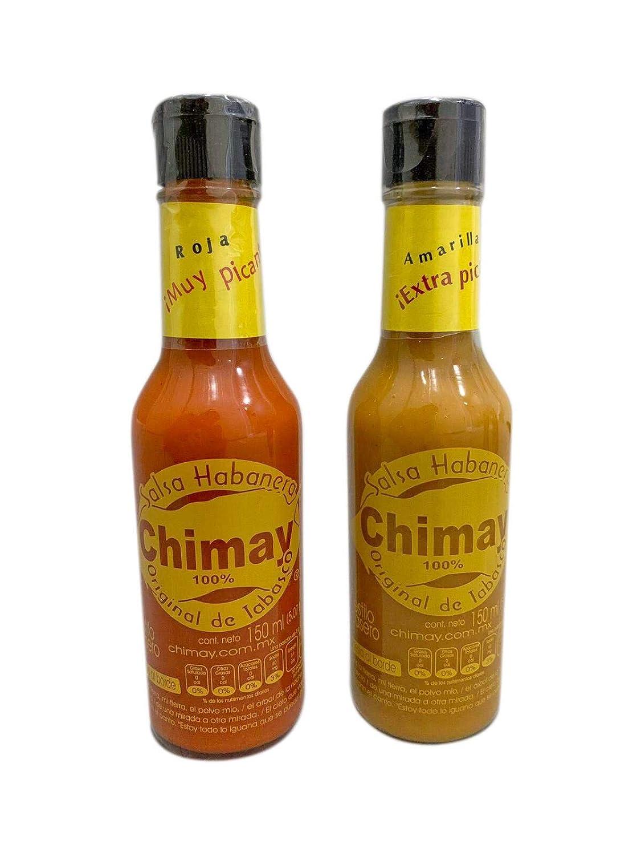 Salsa Chimay Habanero. Paquete doble que contiene: 1 botella ...