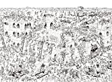 800Piece Jigsaw Puzzle Where's Wally (Waldo) Knight's Attack Hobby Home Decoration DIY