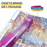 Crafts Graphy 5D Cross-stitch Painting with Diamonds Kit Full Drill – Circular Drill, Love Street, 16 x 20 Inches