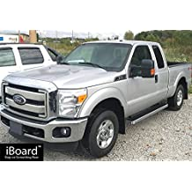 "iBoard Running Boards 5"" Fit 99-16 Ford F-250/F-350 SuperDuty Super Cab"