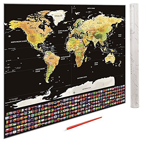 Large scratch off world map poster with usa states and country flags large scratch off world map poster with usa states and country flags 325 x gumiabroncs Gallery
