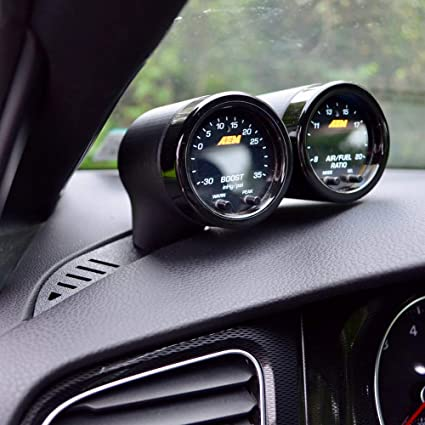 CJM Industries MK7/7 5 GTI & Golf R V3 Gauge Pod (Dual, Smooth Vent Base)