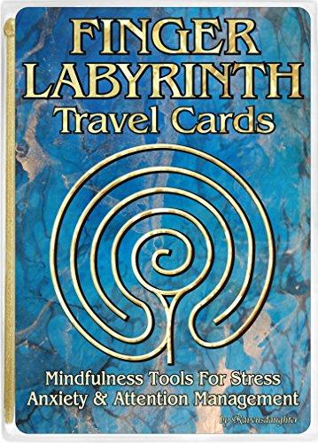 (Finger Labyrinth Travel Cards-10 Pack)