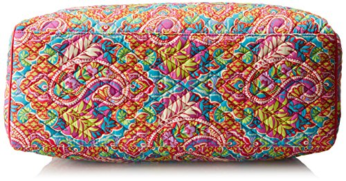 Vera Bradley Women's Triple Compartment Travel Bag, Paisley in Paradise Red by Vera Bradley (Image #3)