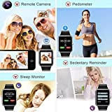POSIUAN MSRM 1.54 Inch Buletooth Smart Watch Support Android 4.2, IOS 7.0 Remote Camera Anti Lost