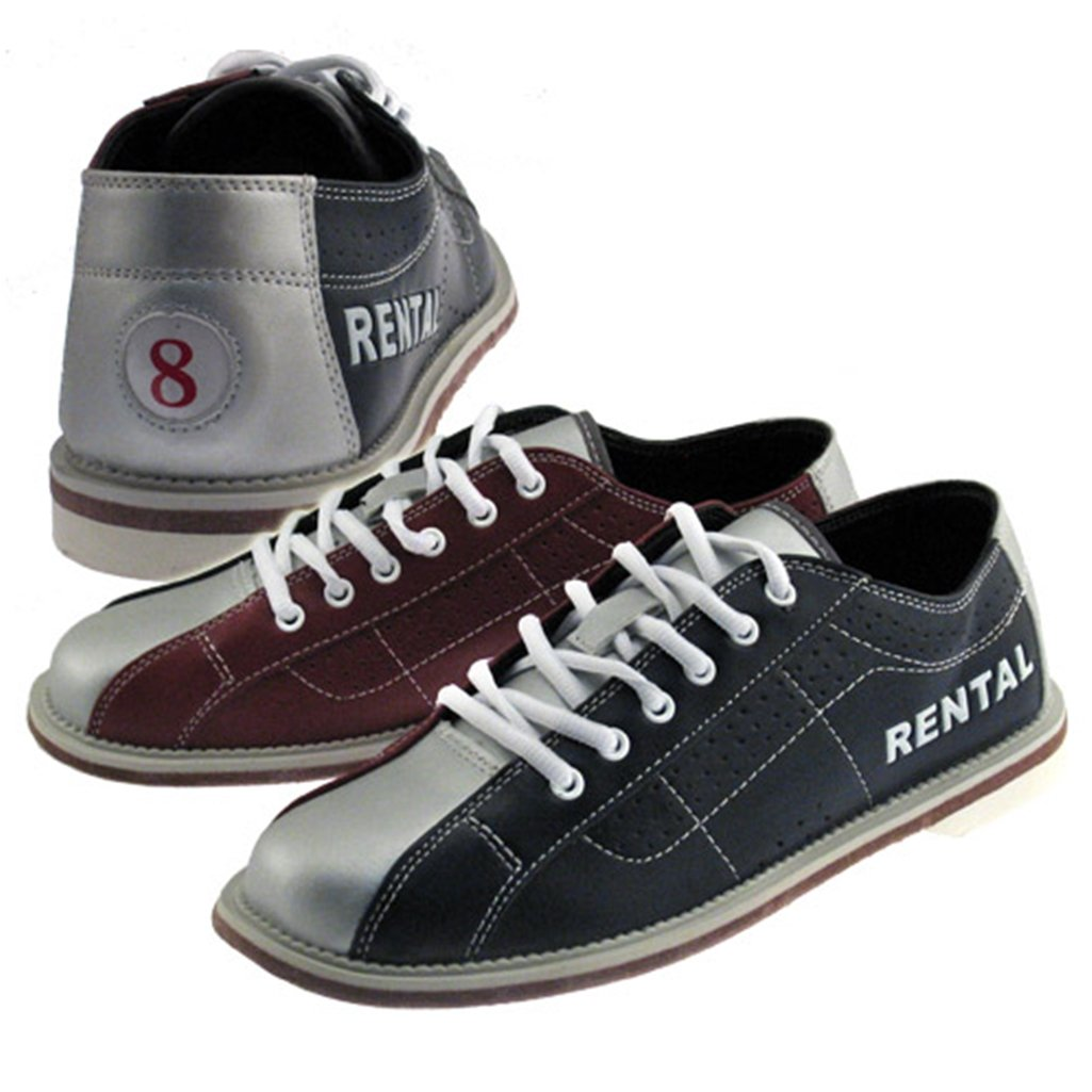 Bowlerstore Classic Womens Bowling Shoes (7 M US, Blue/Red/Silver)
