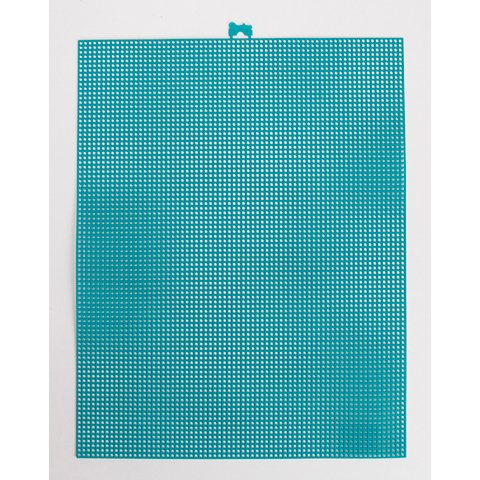 Better Crafts PLASTIC CANVAS PEACOCK BLUE 7MESH 10.5X13.5 (12 pack) (033900-380) by Better crafts