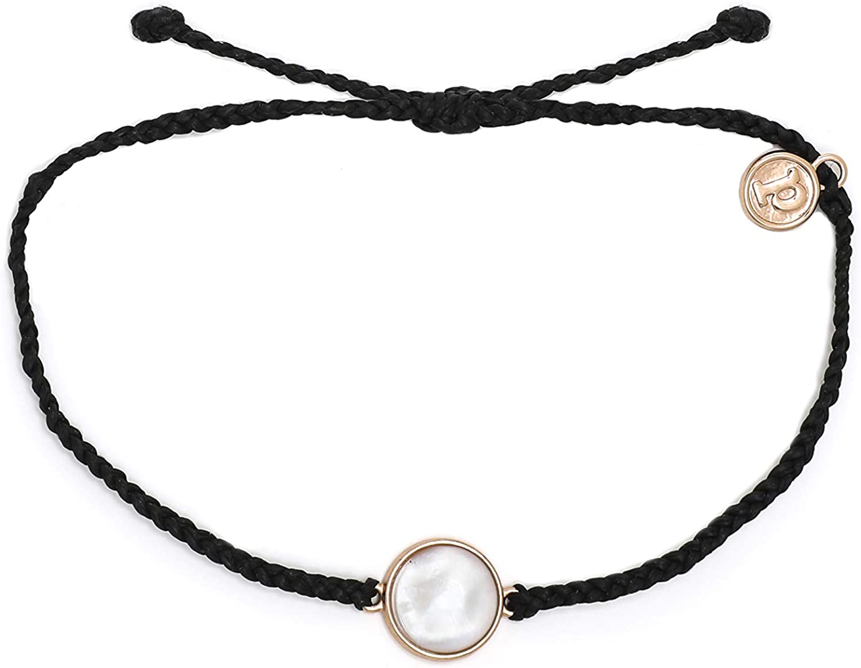 Adjustable Band 100/% Waterproof Plated Charm Pura Vida Gold Enamel Sunflower Bracelet