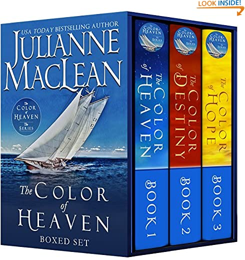 The Color of Heaven Series Boxed Set: (Books 1-3) by Julianne MacLean