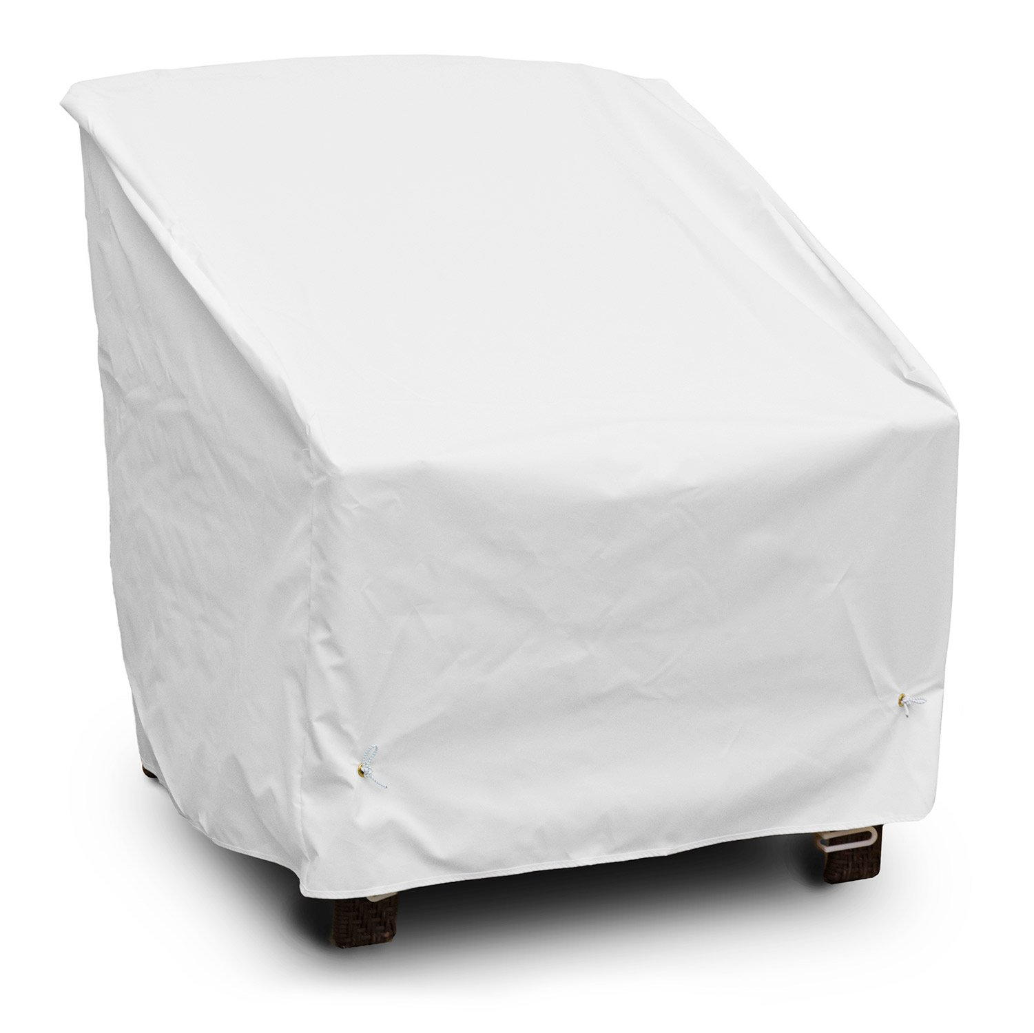 KoverRoos Weathermax 19522 Deep Seating High-Back Lounge Chair Cover, 39-Inch Width by 33-Inch Diameter by 38-Inch Height, White