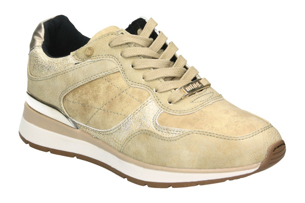 MTNG 69147, Zapatillas para Mujer 37 EU|Dorado (Goat Pu Oro C42737)