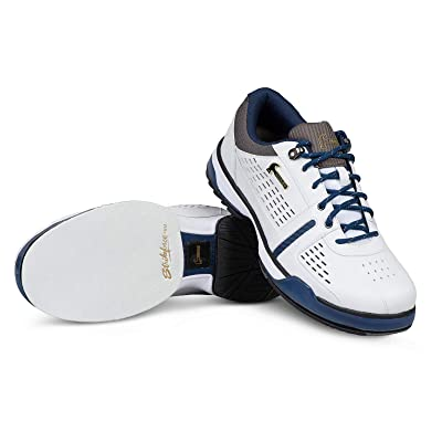 Hammer Boss White/Navy/Grey RH or LH Wide Performance Bowling Shoe Mens: Sports & Outdoors