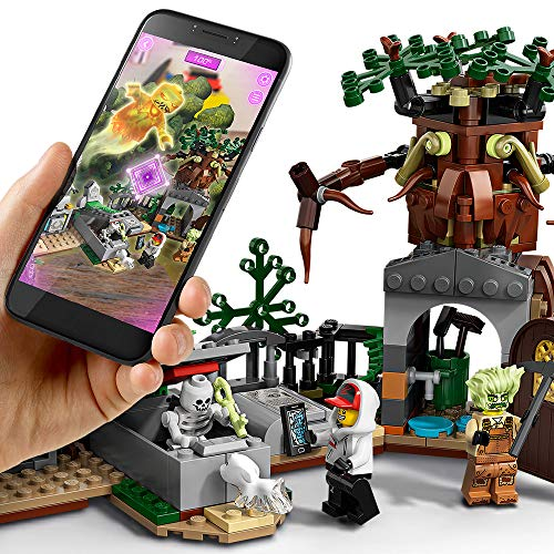 LEGO Hidden Side Graveyard Mystery 70420 Building Kit, App Toy for 7+ Year Old Boys and Girls, Interactive Augmented Reality Playset, New 2019 (335 Pieces)