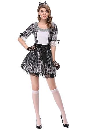 Amazon.com: CHECKin® Halloween blanco y negro Patrón de ...