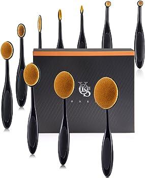 10-Pieces Yoseng Makeup Brush Set with Box