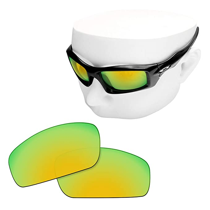 09ee31013b Image Unavailable. Image not available for. Color  OOWLIT Replacement Lenses  Compatible with Oakley Monster Pup ...