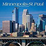 Minneapolis St. Paul 2019 12 x 12 Inch Monthly Square Wall Calendar, USA United States of America Minnesota Midwest City (Multilingual Edition)