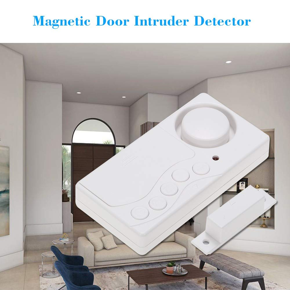 Wireless Magnetic Sensor House Window Door Motion Detector Alarm System Security Home Guarding by Generic (Image #6)