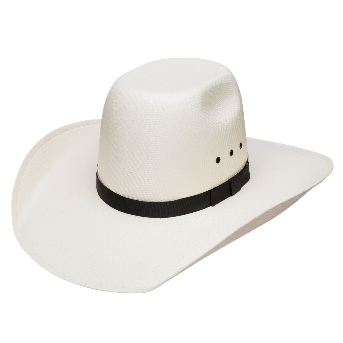 7d107cfca45 Resistol Tuff Hedeman Collection McCabe Punchy Crown Straw Cowboy Hat at  Amazon Men s Clothing store