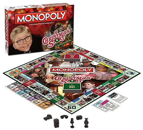 Christmas Story Monopoly Game (Monopoly A Christmas Story Collector's Edition)