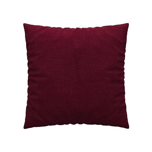 Soferia - IKEA Funda para cojín 55x55, Elegance Burgund ...