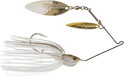 Choice of Colors and Sizes Z-Man SlingBladeZ Double Willow Spinnerbaits