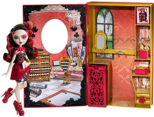 Ever After High Lizzie Hearts Spring Unsprung Book Playset -