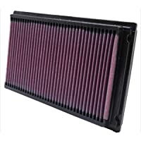 $44 » K&N engine air filter, washable and reusable:  1981-2019 Nissan/Infiniti/Renault L4/V6…