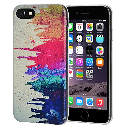 "Amzer ""Abstrakt Modern Art"" Soft Gel Klar TPU Skin Case für Apple iPhone 6/6S"