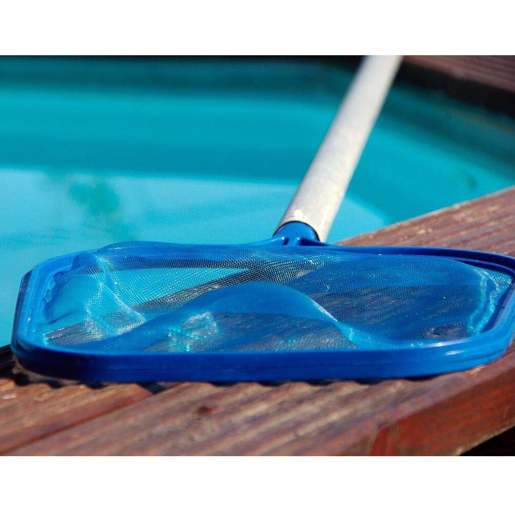 1 Pcs Pool Skimmer Net, Spa, Hot Top, Fountain, Pond Find Mesh Leaf Skimmer Rake Net for Removing Leaves & Debris Pole | Not Included[Wholesale Available]