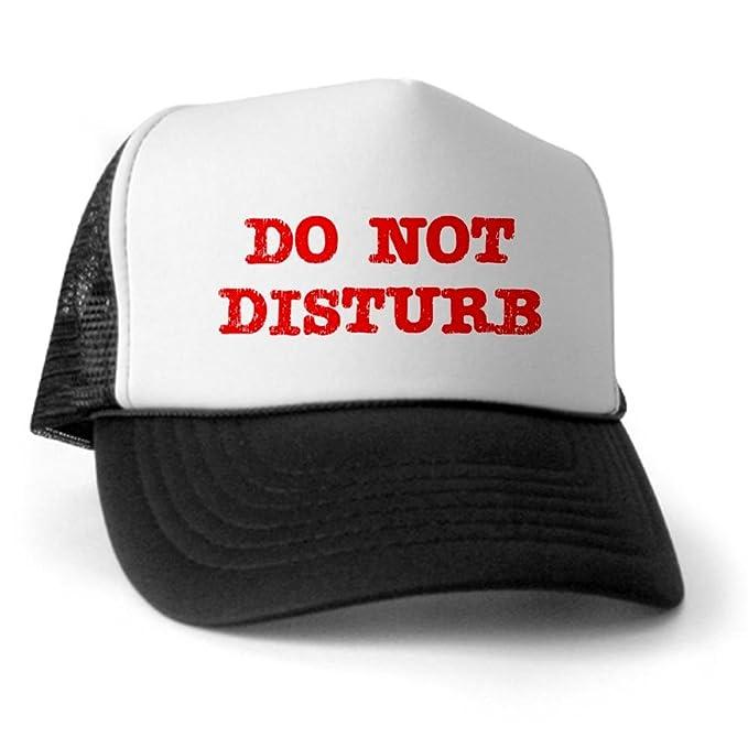 3127db5f CafePress - Do Not Disturb Trucker Hat - Trucker Hat, Classic Baseball Hat,  Unique