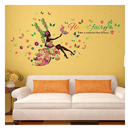 Lovely 3d Wall Stickers In This House Swinging Removable Art Vinyl Mural Home Room Decor For Kids Room Home Decoration Wall Sticker Home Decor