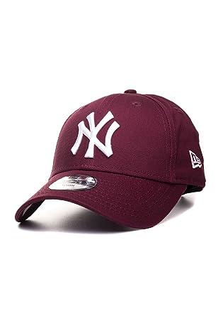 deb4d4dad738 Casquette Enfant 9FORTY League Essential NY Yankees bordeaux NEW ERA -  Jeune Ajustable