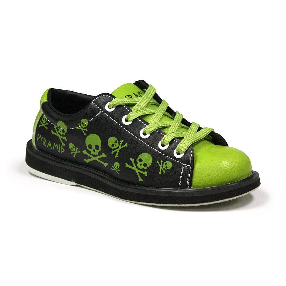 Pyramid Youth Skull Green/Black - Size 8 (Toddler)