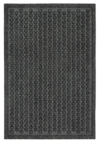 - Mohawk Home Impressions Dots Charcoal Door Mat, 1'6x2'6
