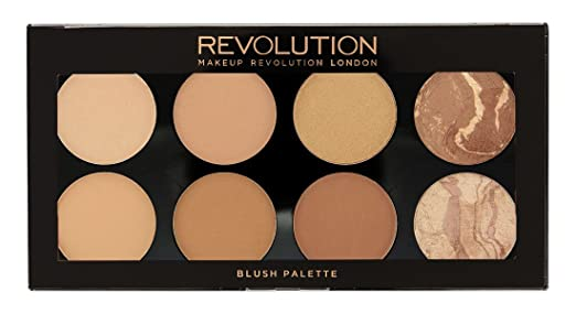 5 opinioni per Makeup Revolution All About Bronze. 8 Bronzing Powders Contouring Palette by