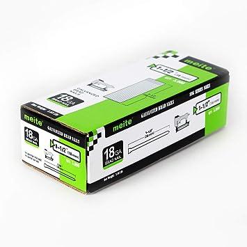 meite - Clavo galvanizado de calibre 18 (3,81 cm, 5000 unidades/caja): Amazon.es: Bricolaje y herramientas