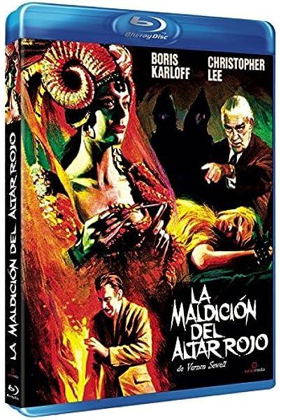 La maldición del altar rojo [Blu-ray]: Amazon.es: Boris Karloff ...