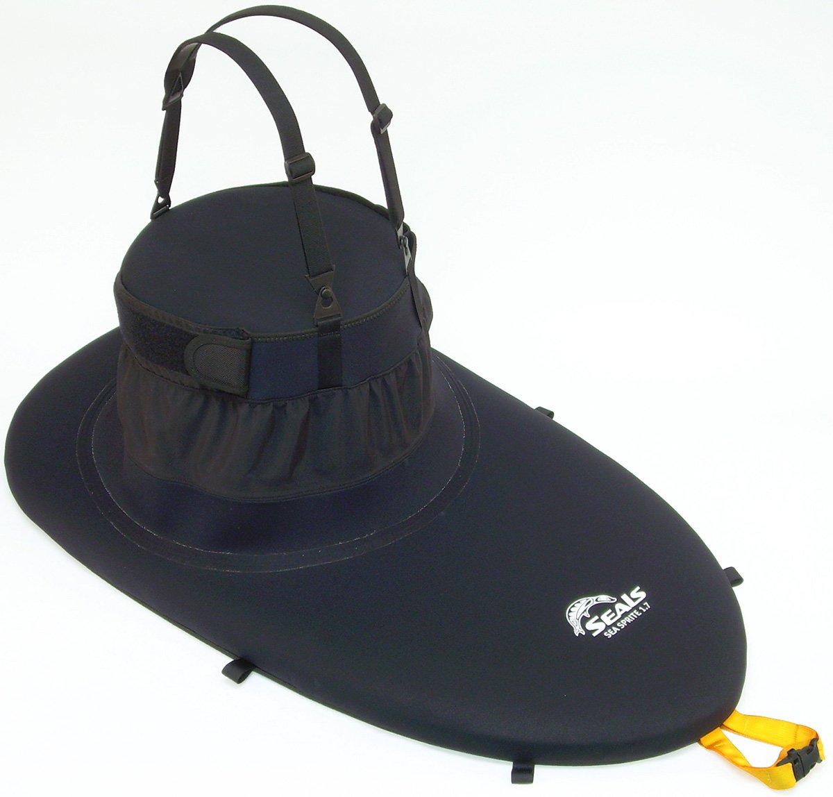 Seals Sea Sprite Kayak Sprayskirt Black 2.2 by Seals