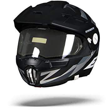 Schuberth E1 Rival Grey Adventure Dual Sport - Casco de moto