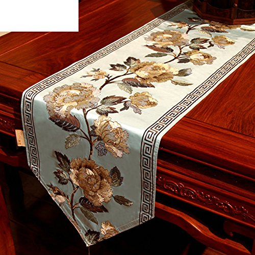 Table Runner Modern Chinese Style Table Runner Coffee Table Cabinet Flag Anti Skidding Embroidery Table Runner B 30x183cm 12x72inch Buy Online In Dominica At Dominica Desertcart Com Productid 55872814