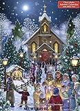Christmas Eve Chocolate Advent Calendar (Countdown to Christmas Calendar)