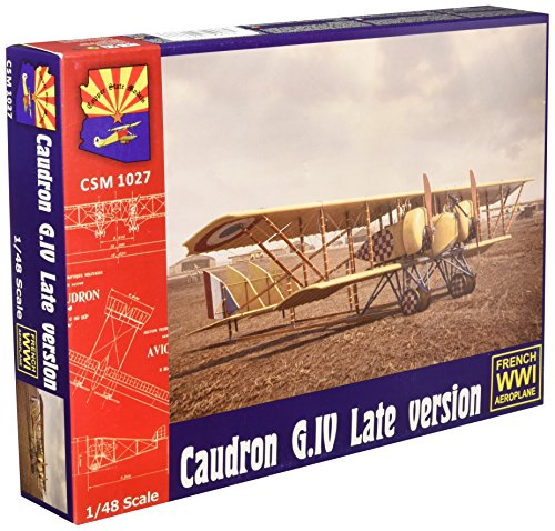 (Copper State models 1/48 France air force Caudron G.4 twin-engine bomber late model car COPK1027)
