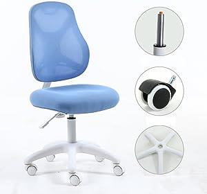 Adjustable Children Desk Chair Low-Back Computer Chair Kids Study Chair Office Chair-B