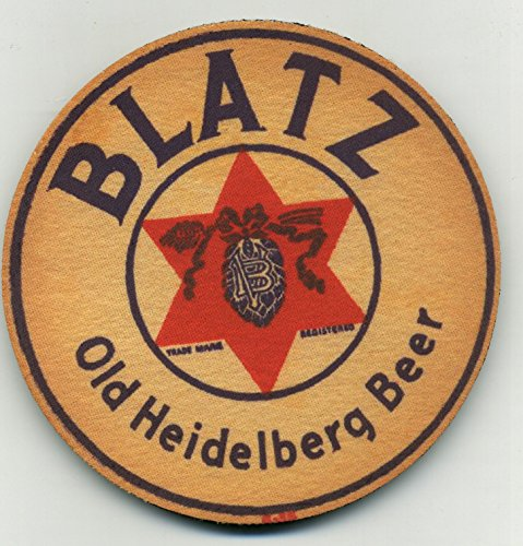 Blatz Old Heidelberg Beer Coaster Set of 4 -