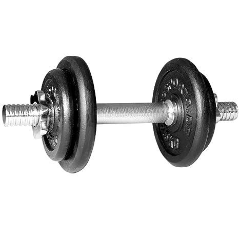 ScSPORTS - Juego de Pesas (10 kg, 1 Barra Corta, 2 Pesas de 2,5 kg ...