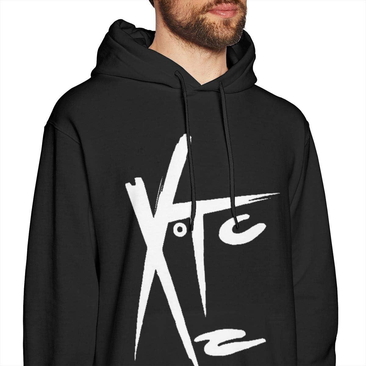 Luomingg XTC Band Mens Comfortable Sweatshirt Black