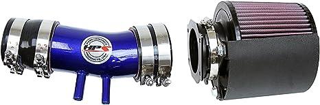 BLACK Filter For 99-04 Frontier Xterra 3.3 Mass Air Flow Sensor Intake Adapter